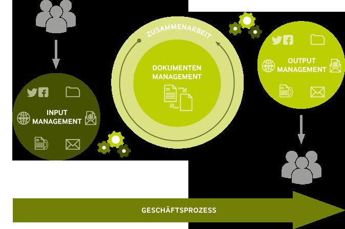Infografik Input Management
