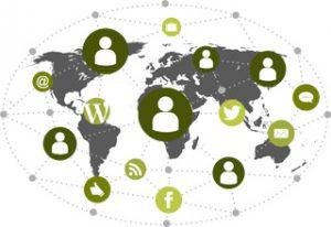 Grafik Social Business mit ECM-Systemen